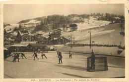 MEGEVE - La Patinoire, Un Match De Hockey. - Sports D'hiver