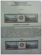 Emissioni Congiunte AUSTRIA 2006, Lemberg Joint Issue With UKRAINA 2 Serie Cpl. 4v. In Coppia Nuovi** - Emissions Communes