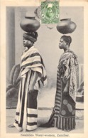 "CPA ZANZIBAR ""Femmes Porteuses D Eau"" - Tanzania"