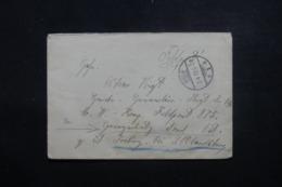 ALLEMAGNE - Enveloppe En Feldpost De Selb Pour Feldpost 875 En 1919 - L 44001 - Germany