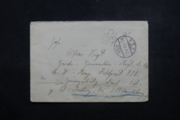 ALLEMAGNE - Enveloppe En Feldpost De Selb Pour Feldpost 875 En 1919 - L 44001 - Deutschland