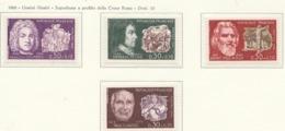 PIA  - FRANCIA  - 1968  : Uomini Illustri - Sovrattassa A Favore Della Croce Rossa -  (Yv  1550-53) - Primo Soccorso