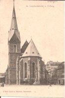 STUTTGART (Bade-Wurtenberg) St. Leonhardskirche U. Oelberg (Dos Non Divisé) - Stuttgart