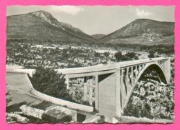CPSM GM FRANCE 04  ~  GORGES Du VERDON  ~  144.61  Le Pont De L'Artuby  ( La Cigogne Dentelée 50/60 ) - France