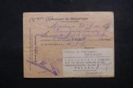BELGIQUE - Enveloppe Du Bureau De Renseignements De Mons En 1917,  à Voir - L 44007 - Prisonniers