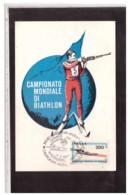 TEM7811   -   ANTERSELVA  5.2.1983    /   CAMPIONATO MONDIALE DI BIATHLON - Tiro (armi)