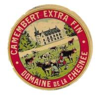 ETIQUETTE De FROMAGE.Petit..CAMEMBERT Extra FIN..Domaine De La CHESNEE ( Manche) - Formaggio