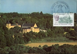 48145 FRANCE Maximum 1985  Abbaye De Landevenec, Architecture,  Abbey - Abbeys & Monasteries