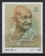Liban (2019) - Set -  /  Gandhi Anniversary - Mahatma Gandhi