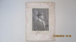 PHOTO DEDICACEE / ARTISTE LYRIQUE / BORDEAUX 1910 - Foto Dedicate