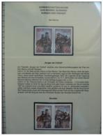 Emissioni Congiunte SAN MARINO 2007, Joint Issue Slovakia [:] 2 Serie Cpl. 4v. In Coppia Nuovi** - Emissions Communes