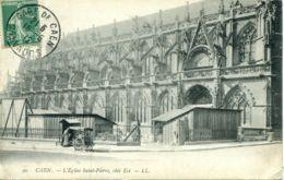 N°77247 -cpa Caen -l'église Saint Pierre- - Caen