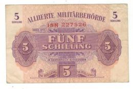 Austria 5 Schill. Series  1944,  VF. - Austria