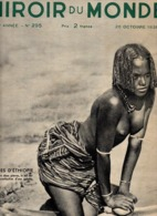 REVUE  MIROIR DU MONDE  1935   N° 295  ETHIOPIE            CROISEUR YAGUMO HAUPTMANN PRISON TRENTON - 1900 - 1949