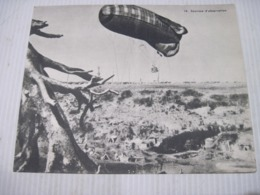 Fiche Photo - Document - Dossier 185 Guerre 14/18 - No 14. LA SAUCISSE (d'observation) - 1914-18
