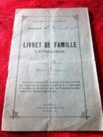 1931 PAROISSE DE SAINT DÉFENDANT DIOCÈSE DE MARSEILLE LIVRET DE FAMILLE CATHOLIQUE Religion & Ésotérisme. Brun - Religión & Esoterismo