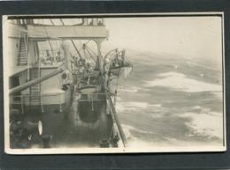 Carte Photo - A Bord D'un Paquebot (Située En Australie, Pacifique) - Paquebots