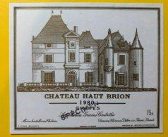 11918 - Château Haut-Brion 1980 Graves Spécimen - Bordeaux