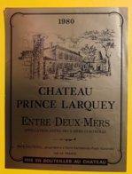 11920 - Château Prince Larquey 1980 - Bordeaux