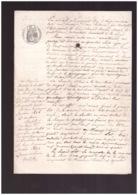 La Loye  Jura Grande Communication Rue Basse Bief De La Lisse Berthot Bechet Machet Ambroise 1856 4 Pages - Manuskripte