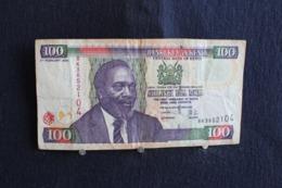 64 / Kenia -  Central  Bank Of Kenya, 100 Shilings -  2004     /  N°  BK3652104 - Kenia
