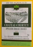 11924 Château Courtey 1980 - Bordeaux