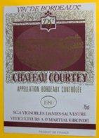 11925 - Château Courtey 1980 - Bordeaux