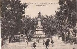 **** 13  *** MARSEILLE Le Monument Des Mobiles Et Des Alliés - écrite TTB - Joliette, Port Area