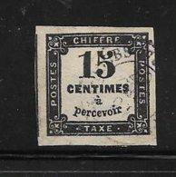 France Timbre Taxe De 1864 N°3 Oblitéré - 1960-.... Oblitérés