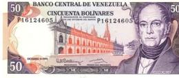 Venezuela P.65 50  Bolivares 1992 Unc - Venezuela
