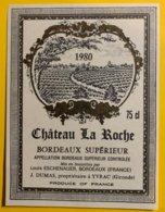 11928 - Château La Roche 1980 - Bordeaux