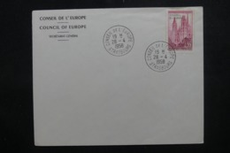 FRANCE - Enveloppe FDC En 1958 , Conseil De L 'Europe - L 44023 - FDC