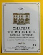 11929 - Château Du Bourdieu 1980 - Bordeaux