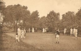LA PANNE  ---  Repos Sainte-Elisabeth  ---  Le Tennis - De Panne