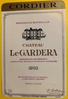 11932 - Château Le Guardera 1980 - Bordeaux