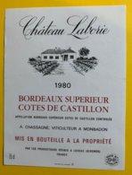 11934 - Château Laborie 1980 - Bordeaux
