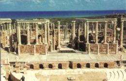 Libya, Leptis Magna - The Theatre, Mint, Inutilisé - Libië