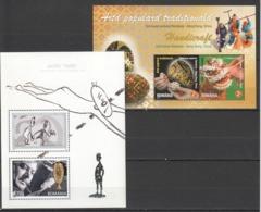 L269 2008,2011 ROMANIA ART GOPO GRAND PRIX HANDICRAFT 2BL MNH - Other