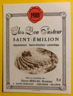 11937 - Clos Bon Pasteur 1980 Saint-Emilion - Bordeaux