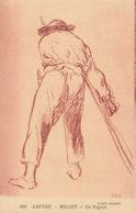 Millet (Musée Du Louvre) - Un Paysan - Peintures & Tableaux