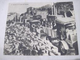 Fiche Photo - Document - Dossier 185 Guerre 14/18 - No 17 RUINES SUR LA ROUTE DE VERDUN LA VOIE SACREE DE VERDUN LE JOUR - 1914-18