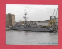 CPM BATEAU DE GUERRE Le Tourville.Frégate à Saint Nazaire. - Equipment