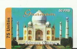 Carte  Telecom Centers  Granom 75 Unites - Operatori Telecom