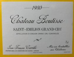 11949 - Château Boutisse 1980 Saint-Emilion - Bordeaux