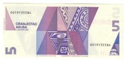 ARUBA5FLORIN1990P6UNC.CV. - Aruba (1986-...)