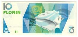 ARUBA10FLORIN1990P7UNC.CV. - Aruba (1986-...)