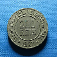 Brazil 200 Reis 1927 - Brasile