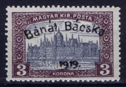 Hungary Banat Bacska Michel 18 MH/* Flz/ Charniere - Banat-Bacska