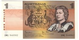 AUSTRALIA1DOLLAR1982P42UNC.CV. - 1974-94 Australia Reserve Bank (paper Notes)
