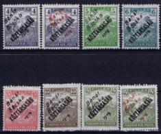 Hungary Banat Bacska Michel 25 - 30  25 A + B , 30 A + B MH/* Flz/ Charniere - Banat-Bacska